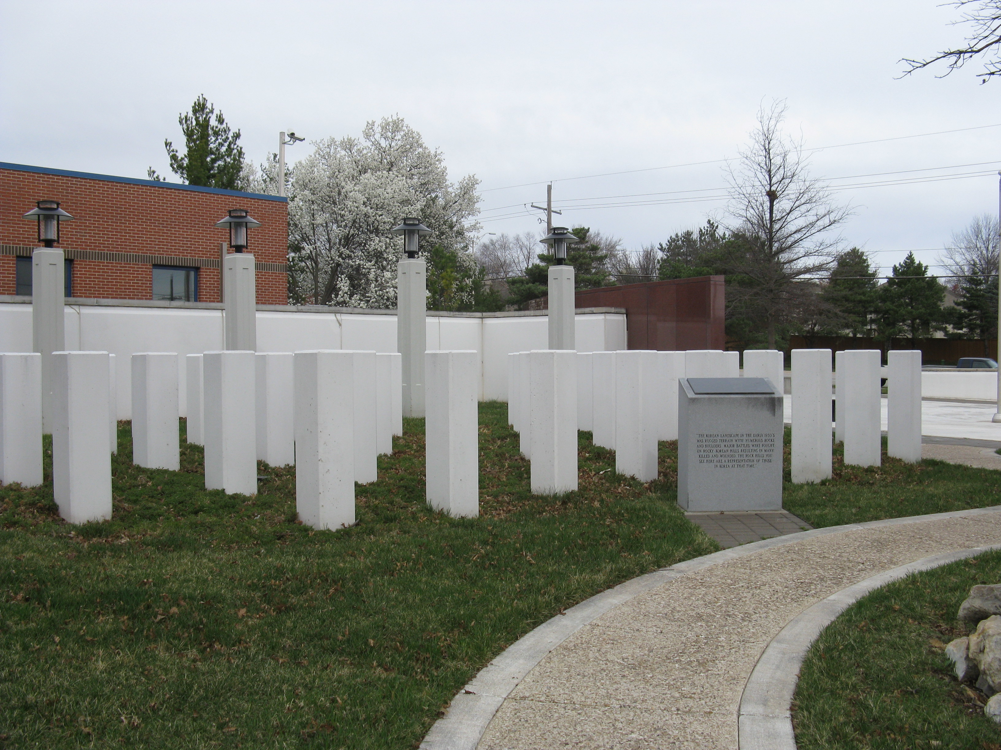 Korean War Memorial In Overland Park Ks Ep 7 Notes Pictures